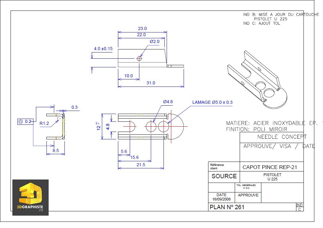 Dessinateur autocad dessins techniques 3dgraphiste fr for Un cartouche architecture