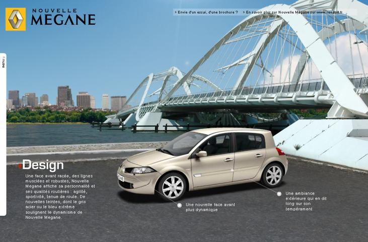 integration voiture 3d dans photo