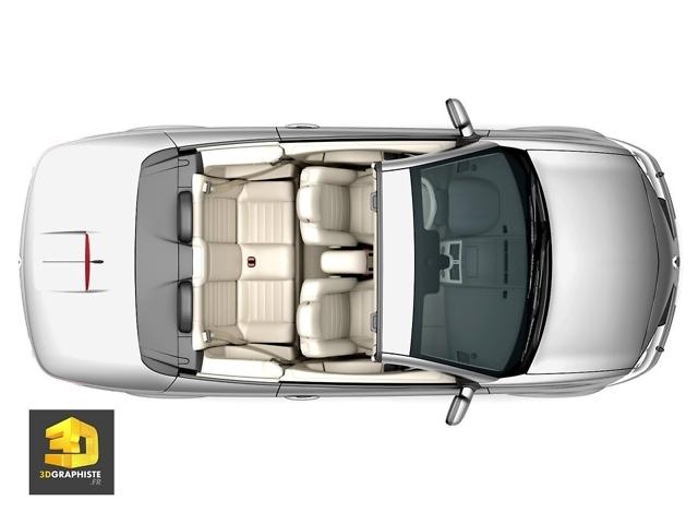 intérieur 3d Mégane cabriolet