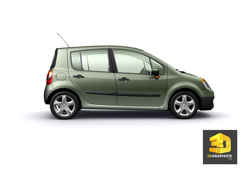 Rendus 3d Renault Modus 3dgraphiste Fr