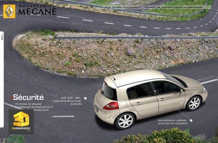 montage infographie 3d automobile