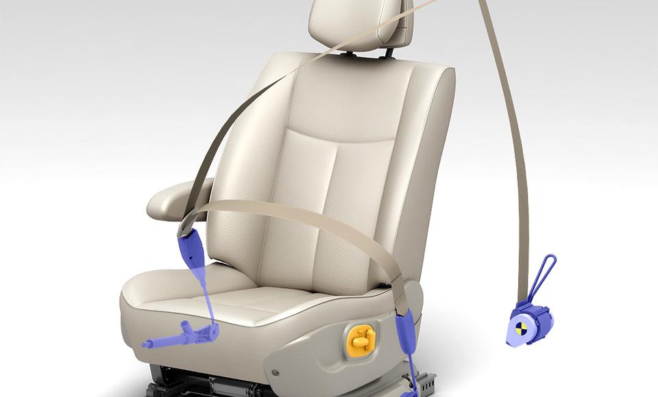 sécurité sièges voiture Renault Mégane