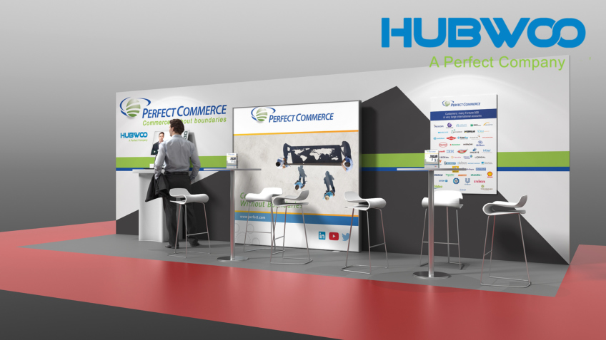Stand exposition Perfect Commerce - Salon E-achats 2015