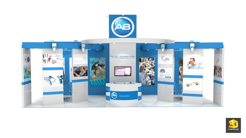 Advanced Bionics booth