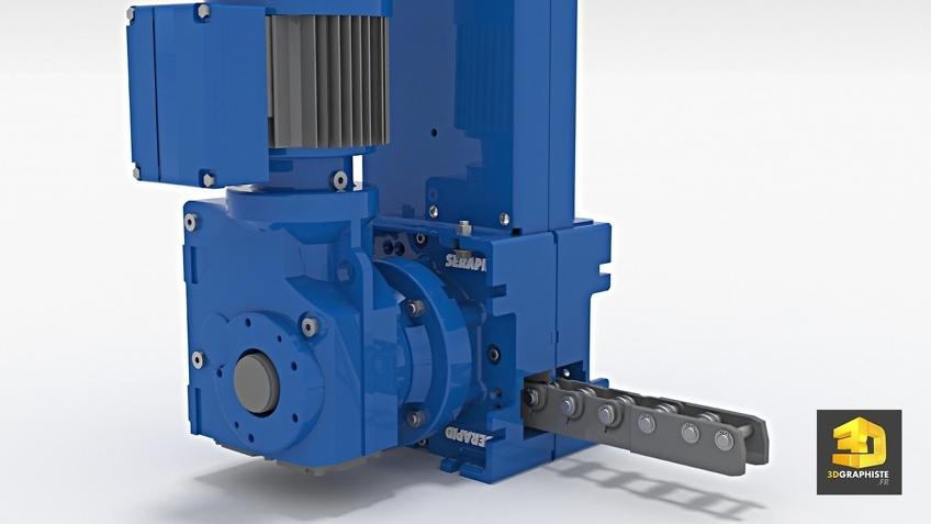 Infographiste 3d industriel - Machine Rollbeam