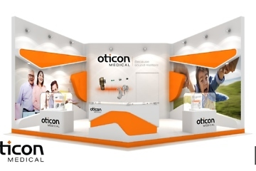 stand Oticon Medical - booth