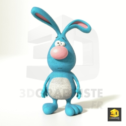 personnage cartoon lapin