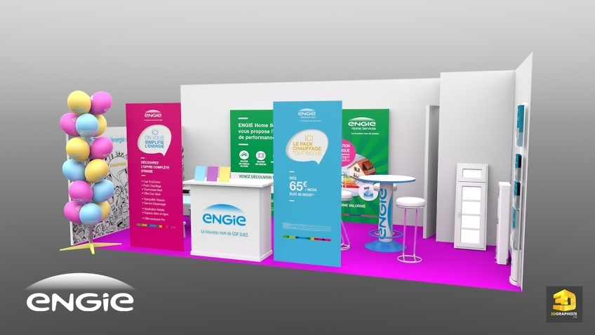 stand engie 18m2