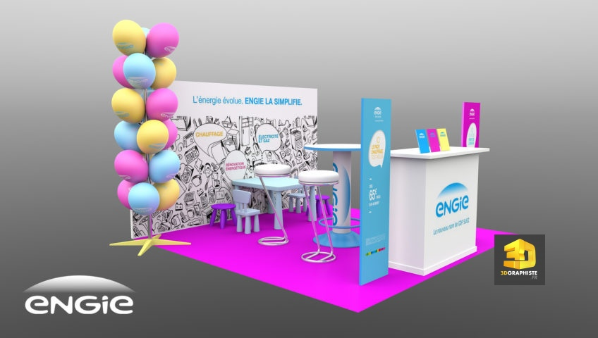 stand Engie 9m2