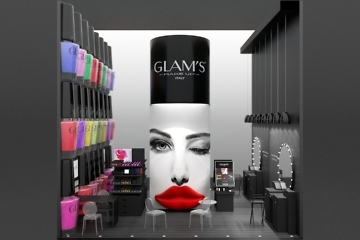 stand glam's make up - italy