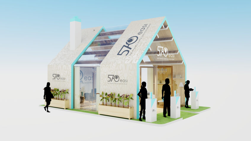 stand maison immobilier - salon RAMF