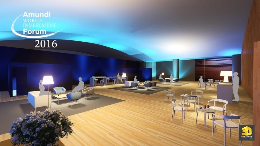 forum Amundi - espace lounge