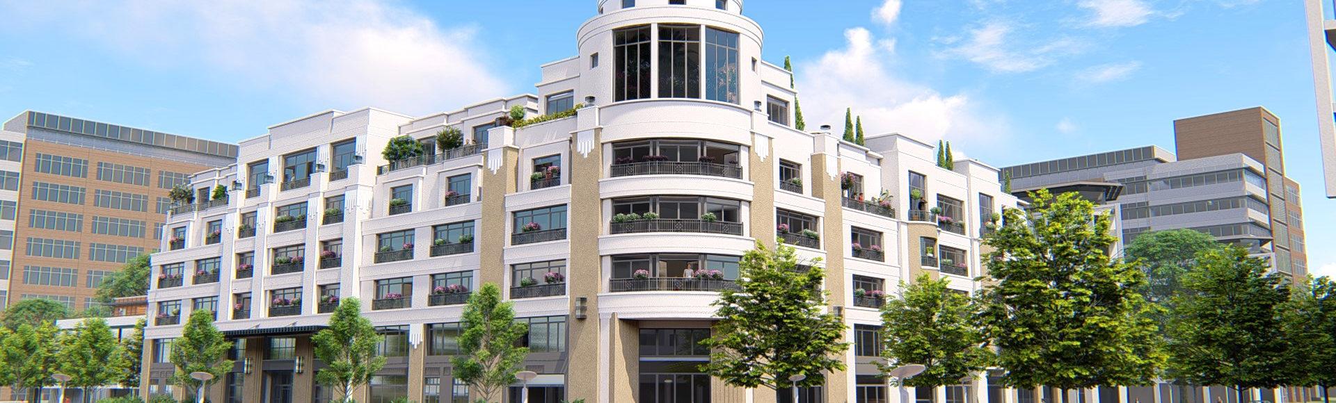 illustration 3d - résidence seniors Palazzo