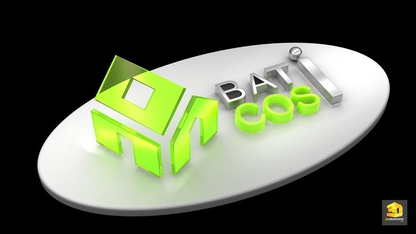 logo 3D Bati Cosi