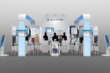 stand modulaire Safran