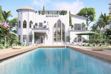 perspective immobilière de maison individuelle