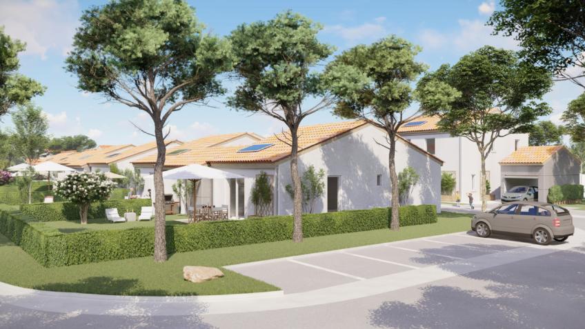 résidence Idelia-Saubens - perspective extérieure