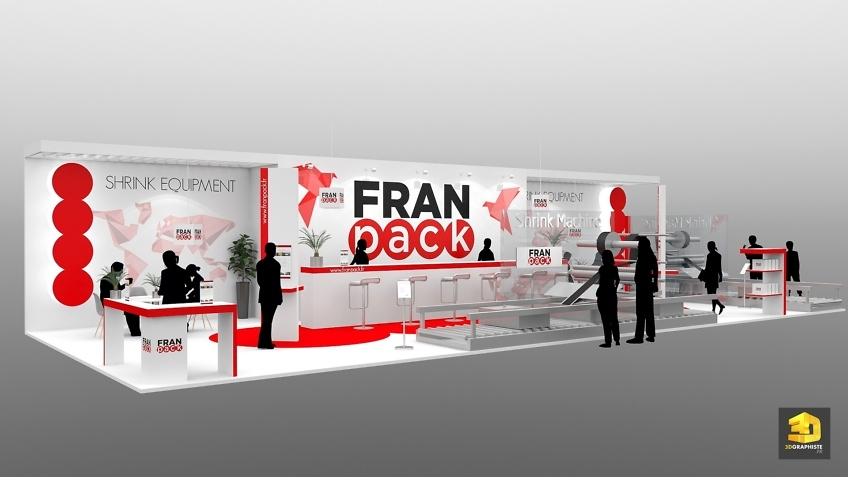 creation stand Franpack salon