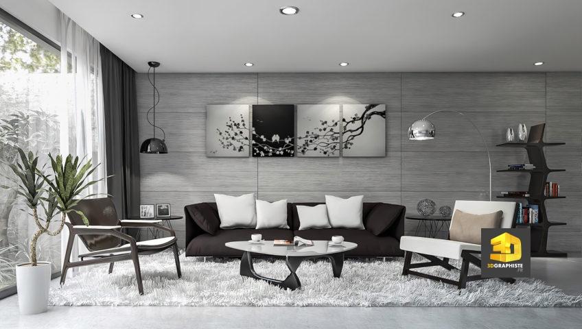 design d'intérieur - appartements Aramis