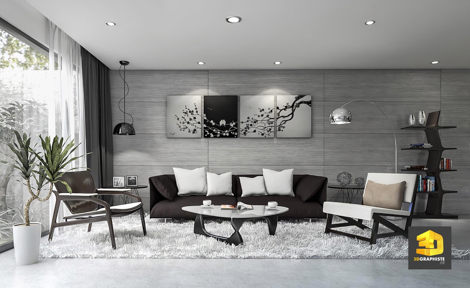 Decoratrice D Interieur Amiens design d'intérieur - appartements aramis amiens - 3dgraphiste.fr