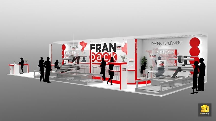 designer de stand salon - Franpack