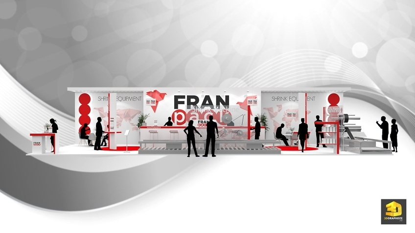 stand Franpack conception