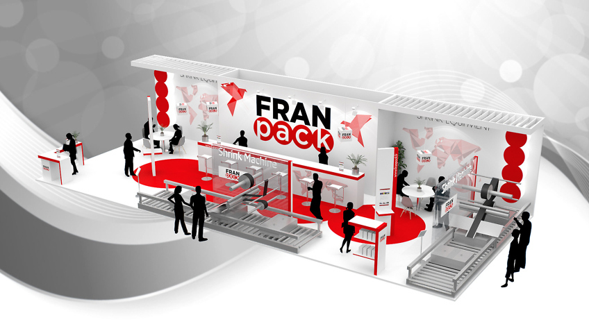 stand Franpack - perspective 3d