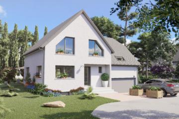 perspective 3d exterieure maison individuelle france bas-rhin