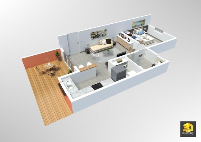 plan de vente - appartement t2 - résidence Vivaldi