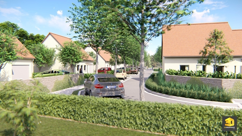 lotissement Nexity - illustration 3d immobilier