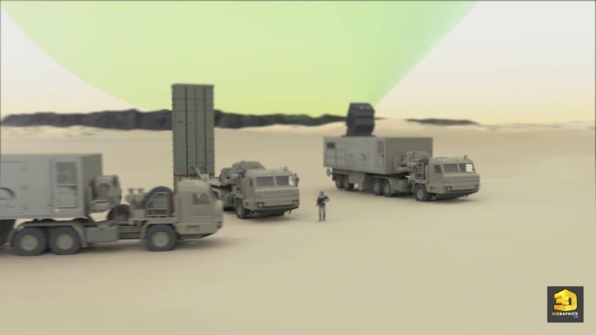 Animation 3D militaire SAMP/T