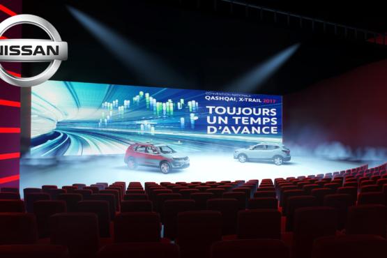 Rough évènementiel Nissan - Plénière dans auditorium du Futuroscope