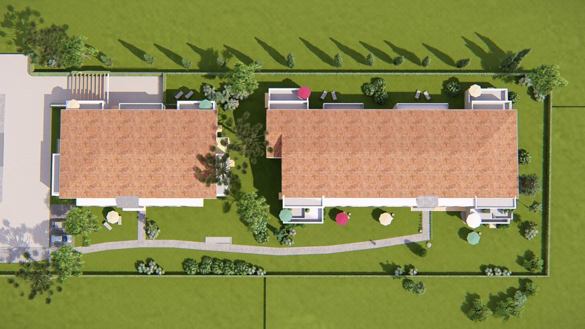 plan de masse - résidence point-d'orgue