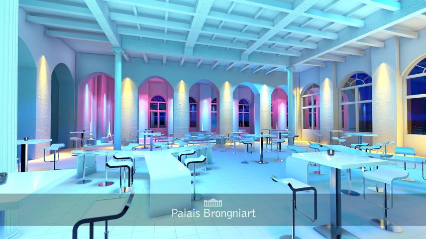 rough événement - palais Brongniart - espace soirée dansante