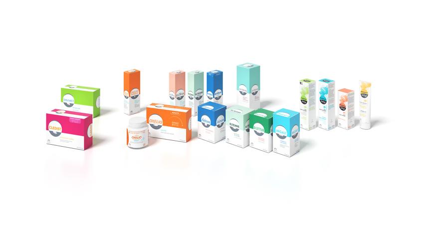 packaging produits Jaldes - infographie 3d