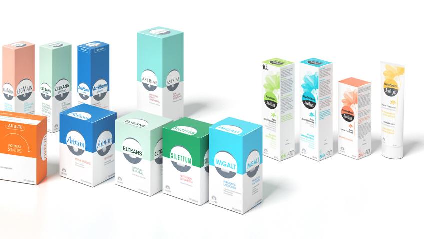 packshot produits Jaldes - infographiste cosmétiques