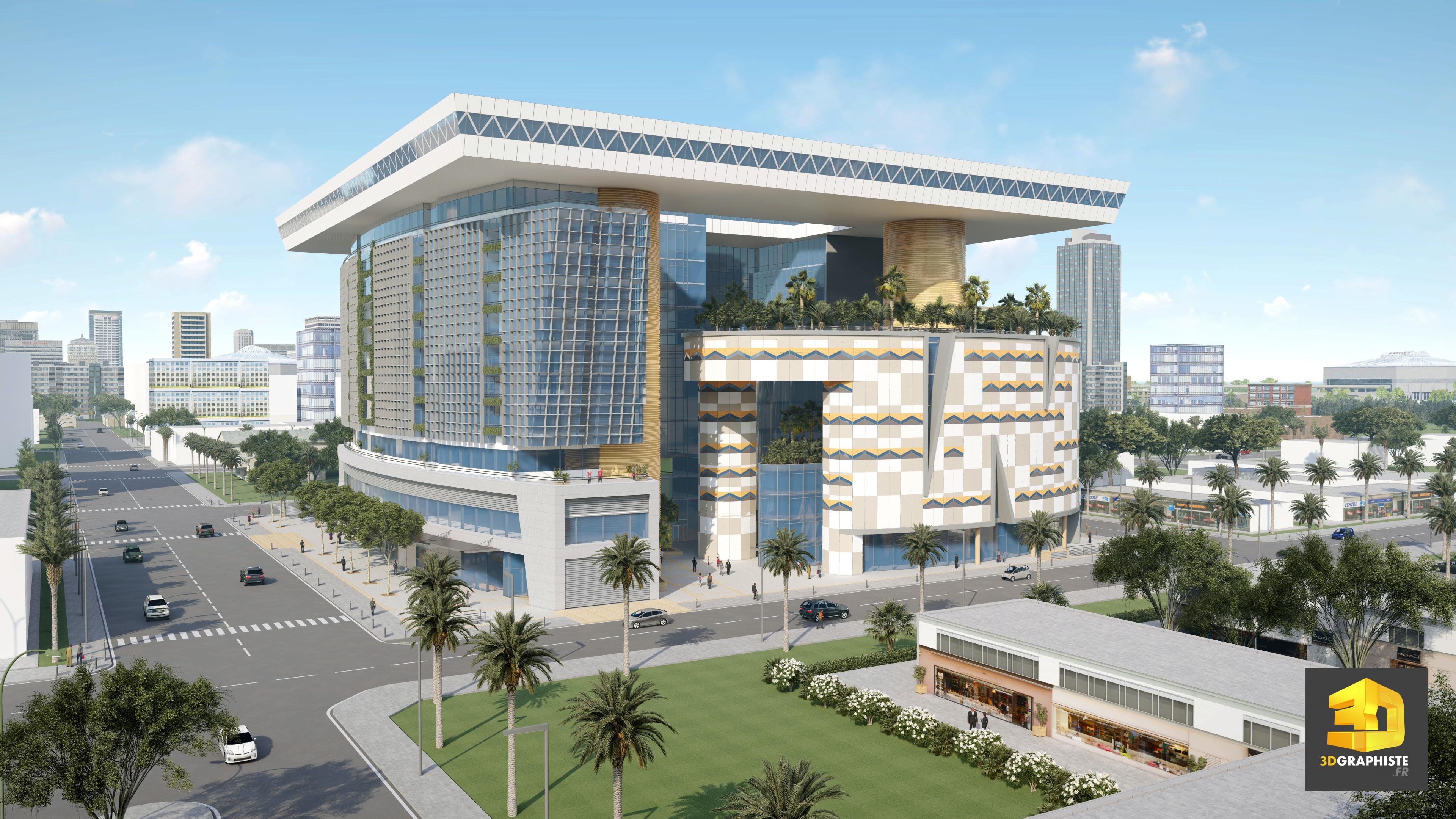 Infographiste architecture cr ation de perspectives et d 39 animations 3d - Cabinet d architecture abidjan ...
