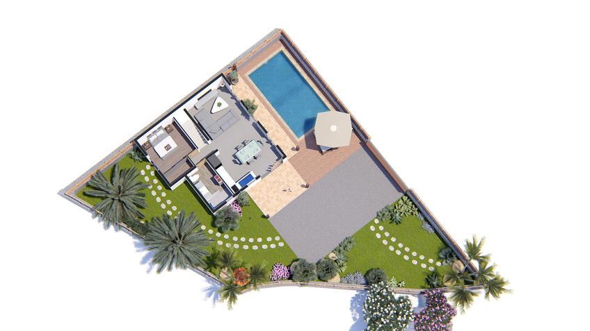 plan de vente - immobilier lotissement les palmes