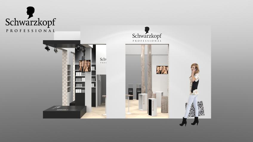 stand Schwarzkopf - designer