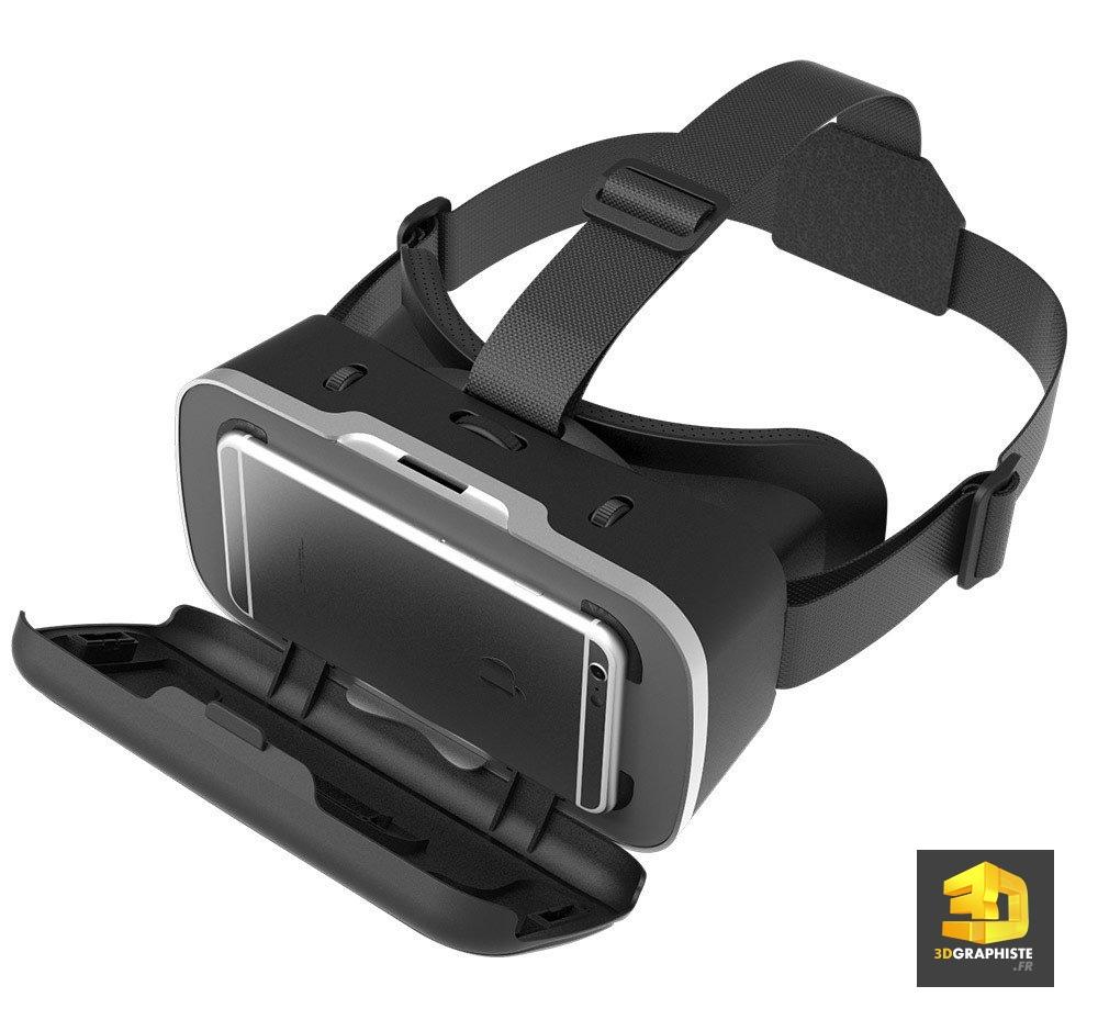 casque VR réalité virtuelle immobilier