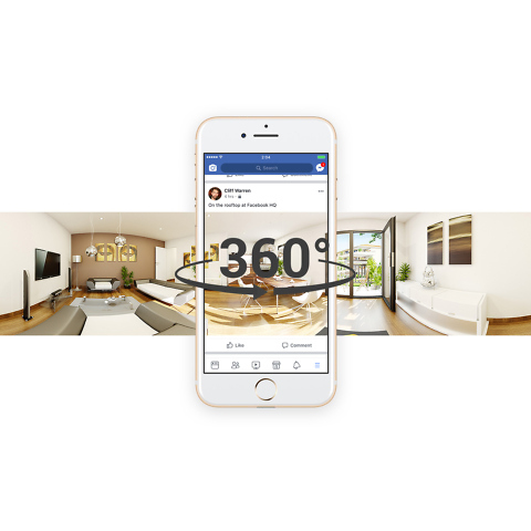 panorama 360 VR 3D pour l'immobilier