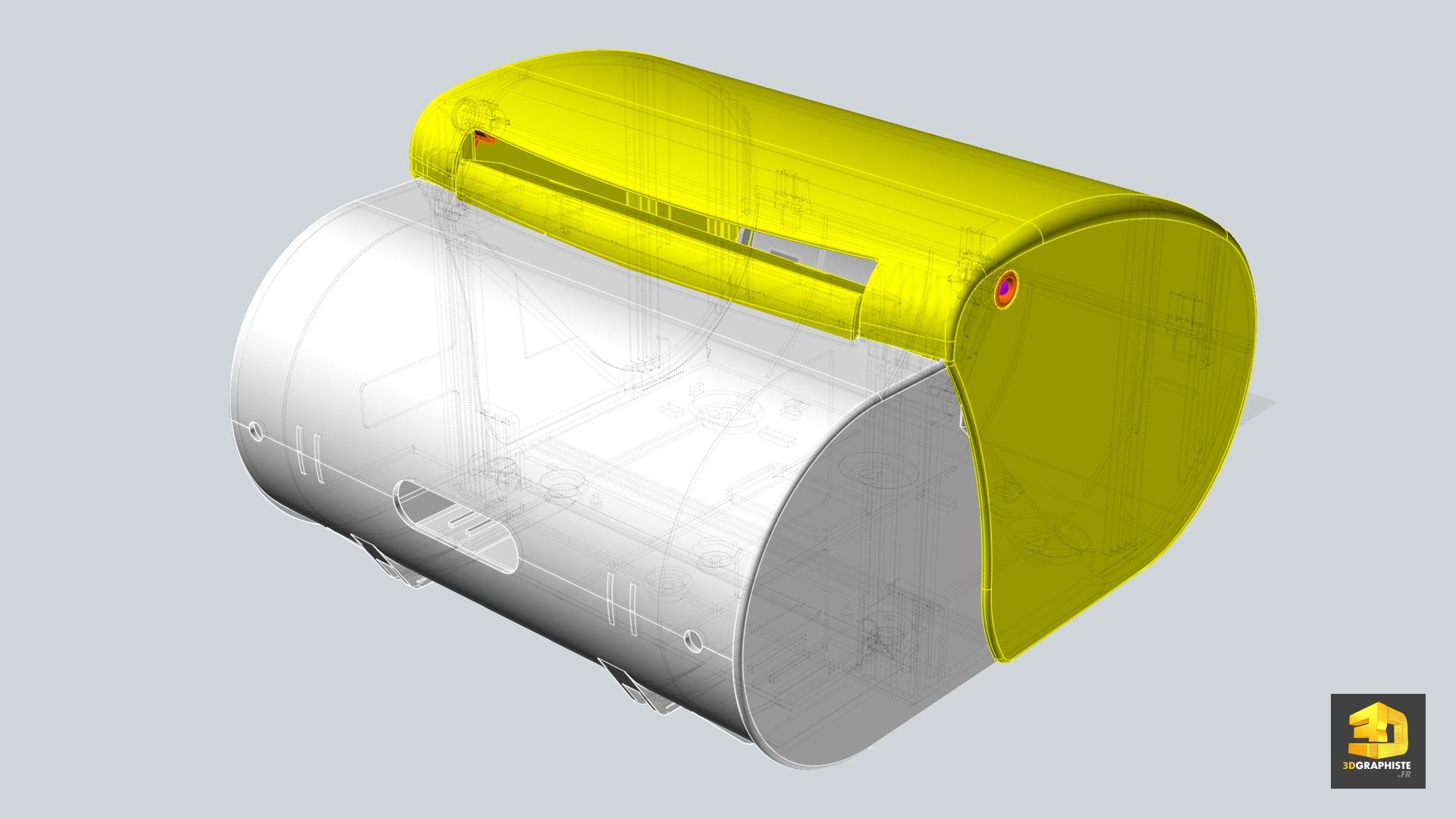 données cao - fichier 3d cao pour illustrateur technique