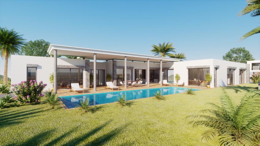 perspective 3d villa haut de gamme - Alpes-Maritimes