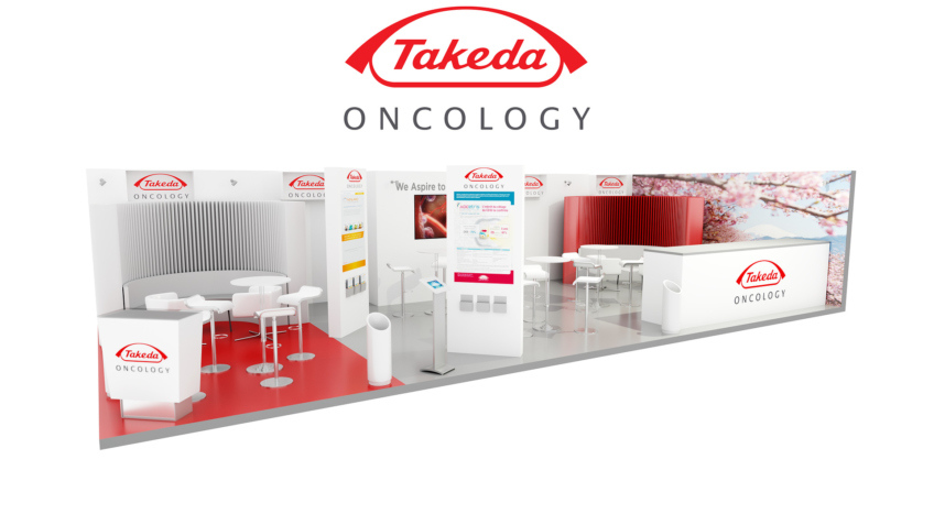 stand laboratoire pharmaceutique takeda designer