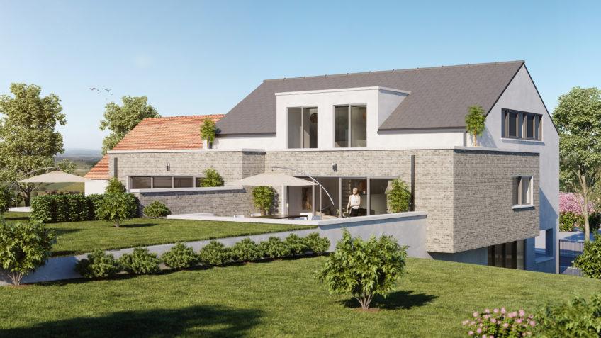 infographiste 3D Belgique - perspective architecture freelance