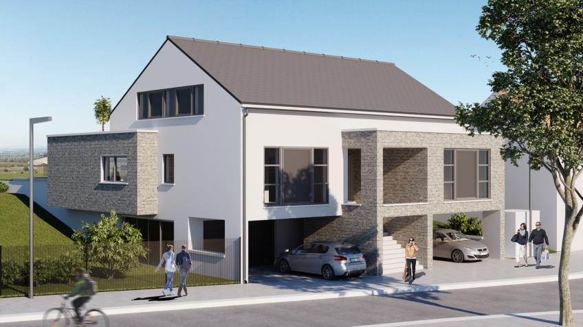 perspective 3d Belgique immobilier freelance
