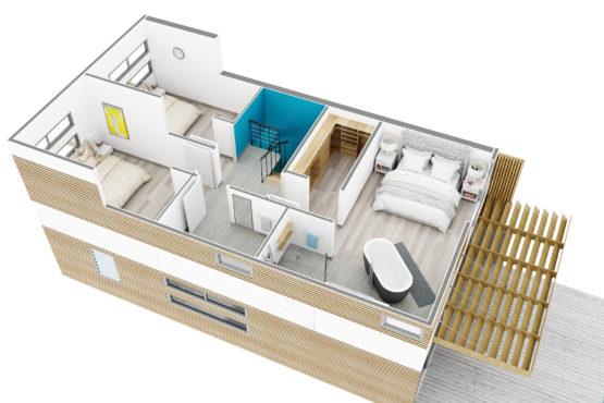 tarif axonometrie pour l'immobilier