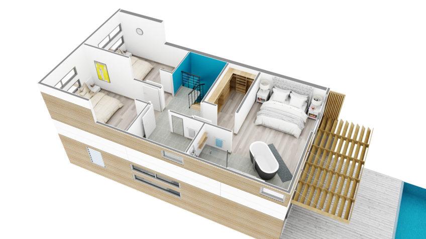 plan de vente villa à Nouméa Nouvelle-Calédonie
