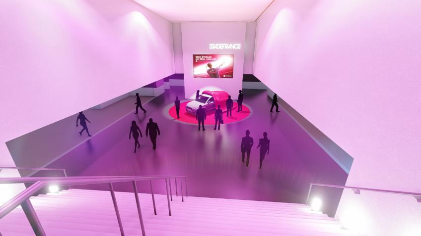 perspective 3D évènementiel - freelance perspectiviste - Vérisure
