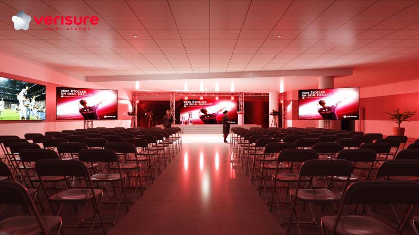 rough 3D évènementiel - convention annuelle Verisure
